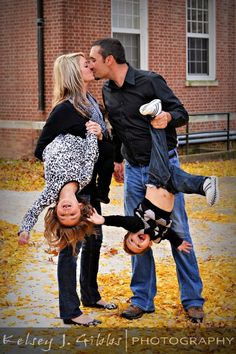 Love this family photo! Definitely different!