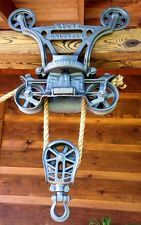 pulleys on wooden beam? - Google Search