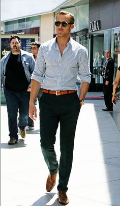 Very nice outfit, important to make sure trousers and shirts are well fitted, the belt matching the shoes and watch is also a plus.