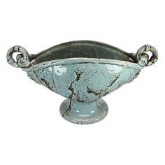 Nashota Handled Pedestal Urn Vase