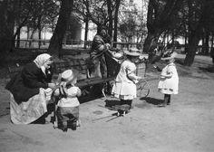 Санкт-Петербург, Летний сад, начало 20-го века
