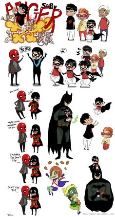 Doodles - Batman 4 by *yolin on deviantART