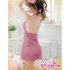 A197 Soft Terra  - 2pc : dress, gstring  Free Size LD 70-90cm, Hips 70-90cm, Bra 32-36, Underbust 70cm    IDR 84.000