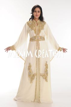 Bid NOW for this beautiful dress !! Get this Cream Colour #dubaikaftan today with the best price offer get this #kaftandress in a one time best offer at your #doorstep this special #wedding offer will never come again !! buy this #kaftan #abaya now !! #abayakaftan #caftan  d.no.3690  buy here : http://cgi.ebay.com/ws/eBayISAPI.dll?ViewItem&item=171298904413&ssPageName=STRK%3AMESE%3AIT