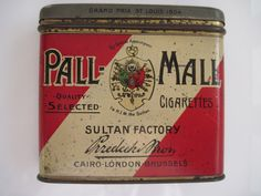 255 Vintage Cigarette Tins now in my Etsy Shop