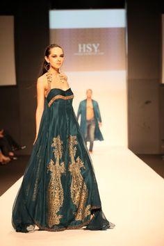 Dubai Fashion Week, HSY runway show. http://www.hsystudio.com/