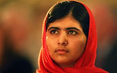 """Let us pick up our books and our pens, they are the most powerful weapons.""  -Malala Yousafzai"