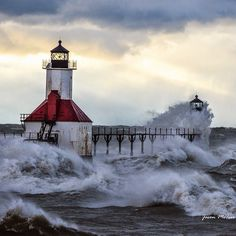33 Best Michigan Lighthouses images in 2017   Michigan, Pure