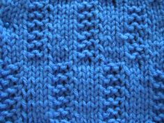 Centipede Knitting Stitch