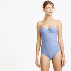 DD-cup underwire one-piece swimsuit Strapless Swimsuit b70cc7f09fa