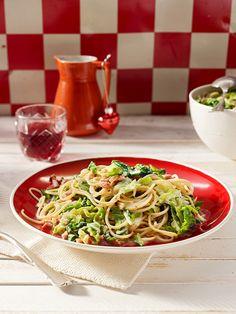 Spaghetti mit Sahne - Wirsing