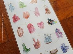 You will receive 1 sheet of stickers with gold accents.  These stickers are perfect for scrapbooking, gift wrapping, sticking into planners and diaries to mark special occasions, and make perfect gifts for EVERYONE, regardless of age!  I am a sticker collector too, and am very careful that all the stickers that I sell are 101% authentic, free of any printing imperfections, and are 1000% kawaii =)  Please let me know if you have any questions about any of my products - I'll be more than h...