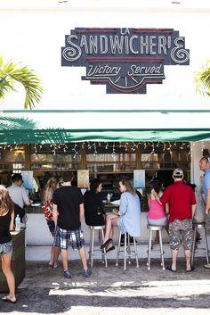 Miami Eats - La Sandwicherie | Miami Beach