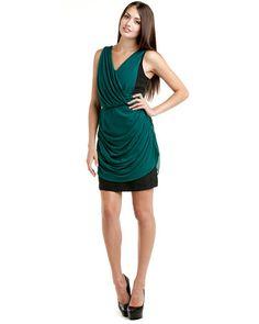 The Addison Story Mixed Silk Dress