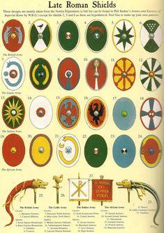 https://www.kickstarter.com/projects/cristinaravara/julius-caesar-in-ariminum-rimini-italy Late Roman shields