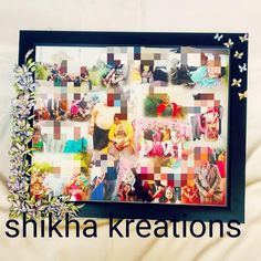 Cuttings, Photo Wall, Day, Frame, Projects, Instagram, Home Decor, Picture Frame, Log Projects
