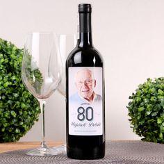 Personalizowane Czerwone Wino WYJĄTKOWE URODZINY