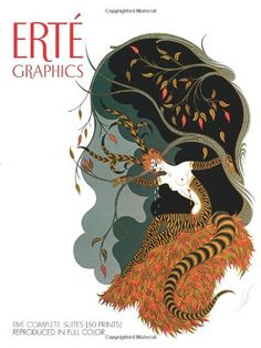 Erte Graphics: Five Complete Suites (50 Prints) Reproduced in Full Color: Erte: 9780486235806: Amazon.com: Books