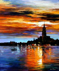 THE SKY OF SPAIN - by Leonid Afremov