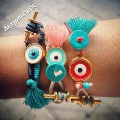 Διαγωνισμός χειροποίητα Βραχιόλια - Ματάκια - Handmade Jewelleries με δώρο 2 χειροποίητα Βραχιόλια - Ματάκια Personalized Items