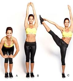 Great one minute workouts from Brooke Burke! How amazing does she look?! Thanks Health.com!