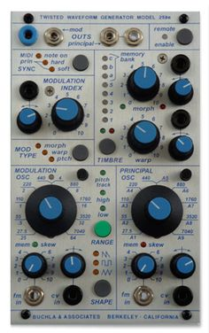 Buchla and Associates - Model 259e Twisted Waveform Generator