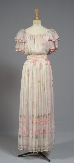 Garden party dress, Valentino, 1971/1972.