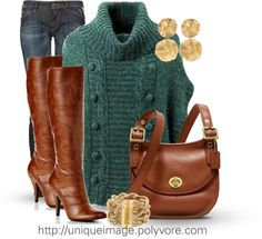 """""""Winter Outfit# 6"""" by uniqueimage ❤ liked on Polyvore"""