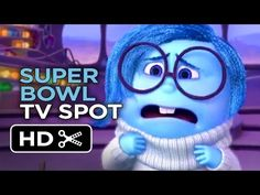 Inside Out Official Puppy Bowl TV Spot (2015) - Disney Pixar Movie HD - YouTube