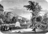 PARIS - LE BOULEVARD DE LA REINE-HORTENSE