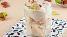 Swap out regular milk for cashew milk for this deliciously decadent ice cream.