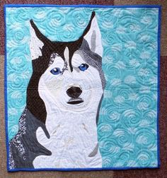 Dog Mini 2015 swap quilt by Kerry at PennyDog