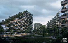 オフィスや住宅、ホテル、病院、学校など、街の建物全体が植物や木々で覆われた、まるでラピュタの世界のような「LIUZHOU FOREST CITY」が建築家のStefano Boeri氏によってデザ