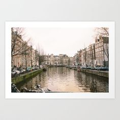 Canal 2 Art Print by Golden Sabine Art Prints, Photography, Design, Art Impressions, Photograph, Fotografie, Photoshoot, Fotografia