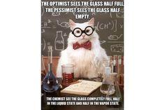Chemistry Cat: Chemistry Cat - Optimist or Pessimist?