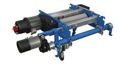 Nuevo modelo de polipasto birraíl con tubos GHB11, fabricado por GH Cranes&  Components.