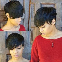 Muy Lindos cortes de pelo Corto para las Mujeres Negras // #Cortes #corto #lindos #mujeres #negras #para #pelo