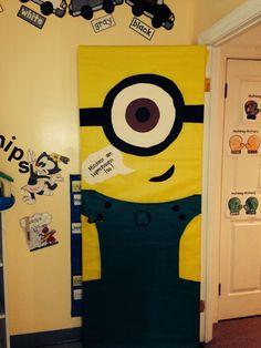 Classroom door decoration
