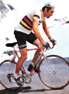 Eddy Merckx - The greatest cyclist EVER.