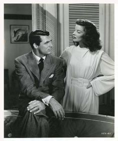 Directed by George Cukor.  With Cary Grant, Katharine Hepburn, James Stewart, Ruth Hussey. When a rich woman's ex-husband and a tabloid-type reporter turn up just before her planned remarriage, she begins to learn the truth about herself.