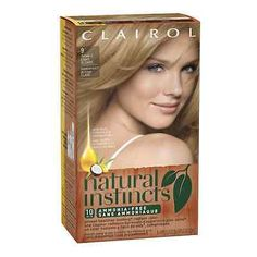 Natural Instincts Non-Permanent Color, 09 Light Blonde 1 ea (Pack of 6)