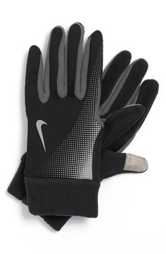hot sale online 702d2 5878b Nike  Tech  Thermal Running Gloves available at  Nordstrom Running Plans, Nike  Tech