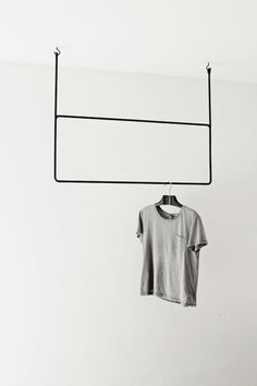 The Minimalist - The Minimalist Store / Clothing Rail Rectangular by Annaleena Sweden
