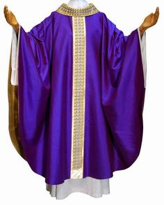 Chasubles  We are pleased to be the U.S. source for the world's finest quality and most highly sought-after vestments. We import our vestments from all over the world in order to present our clients with the best selection of liturgical apparel.