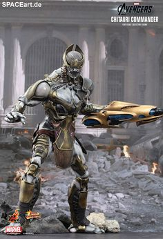 The Avengers: Chitauri Commander und Footsoldier, Deluxe-Figuren (voll beweglich) ... https://spaceart.de/produkte/tav002.php