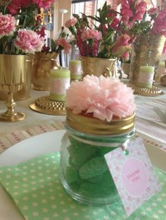 Mint Green & Pink I Baby Shower Styling