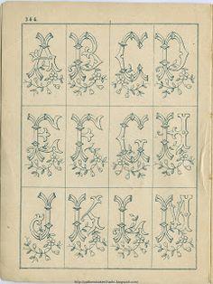 Free Easy Cross, Pattern Maker, PCStitch Charts + Free Historic Pattern Books: Sajou No 344