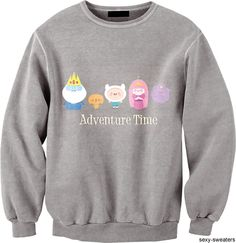 Chibi Adventure Time Sweater