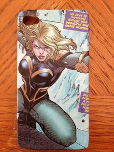 Black Canary iPhone 4S cell phone case. $10.00, via Etsy.