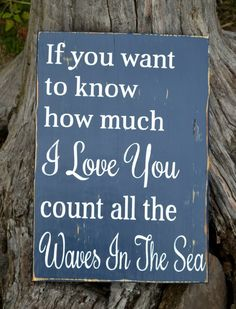 Nautical beach wedding signs, navy blue beach wedding decor idea.